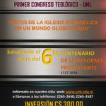 PRIMER CONGRESO TEOLÓGICO UML – Pre inscripción en línea