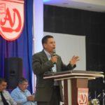 UML presente en la LXXXIV Conferencia Anual de las Asambleas de Dios de Nicaragua.